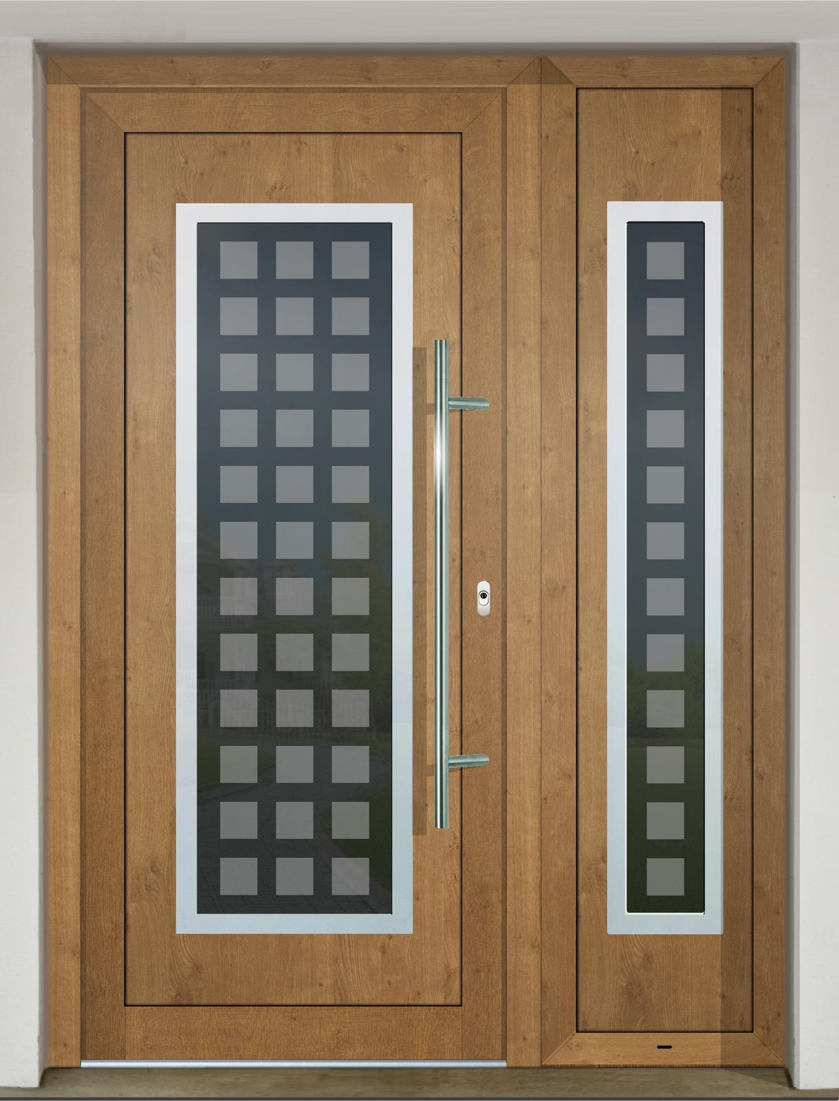 Vchodové dvere GAVA s prísvetlíkom - GAVA 701-2