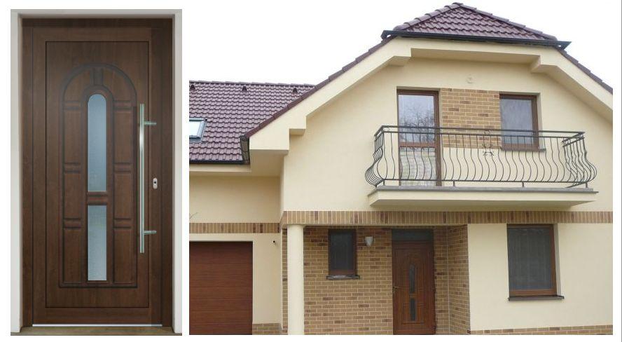 Vchodové dvere - vstup do vášho súkromného sveta - GAVA 072 materiál PVC