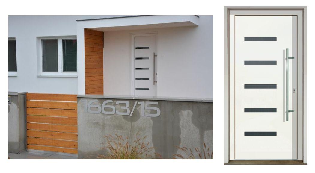 Vchodové dvere - vstup do vášho súkromného sveta - GAVA 916 biela