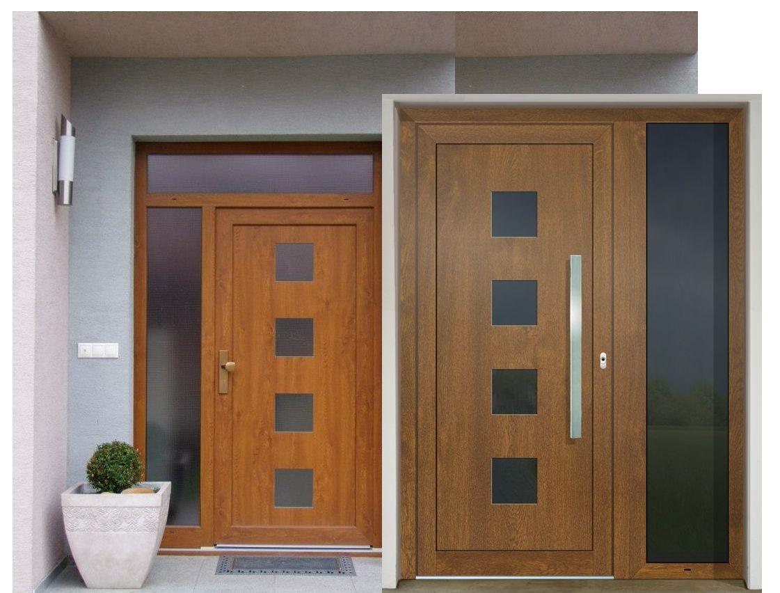 Vchodové dvere - vstup do vášho súkromného sveta - GAVA 961 zlatý dub