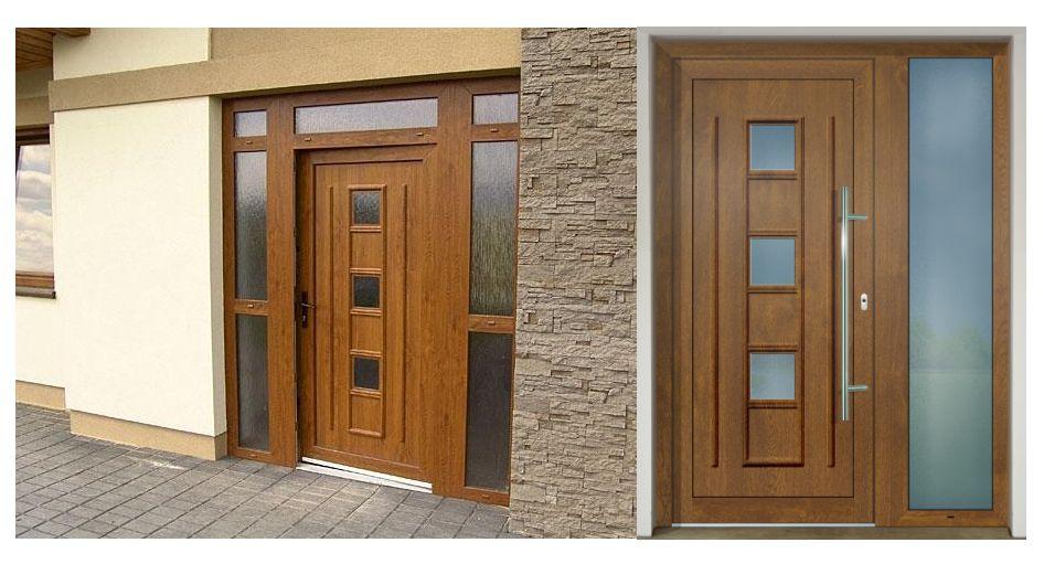 Vchodové dvere - vstup do vášho súkromného sveta - GAVA 171 zlatý dub