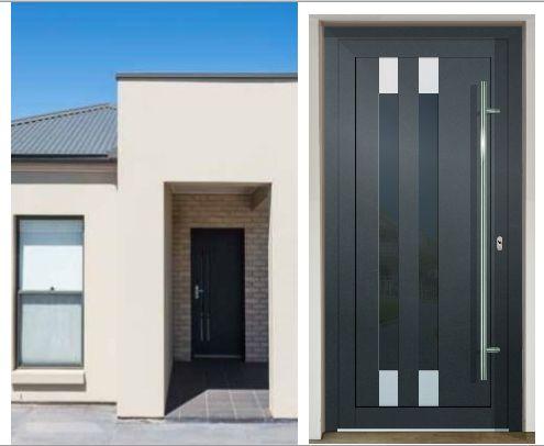 Vchodové dvere - vstup do vášho súkromného sveta - GAVA 992 antracit