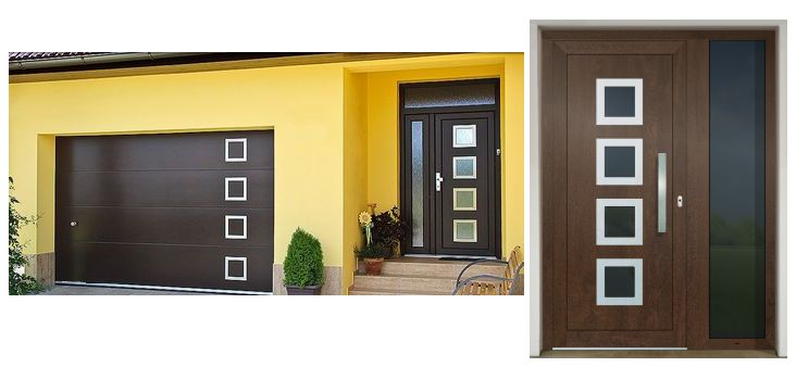 Vchodové dvere - vstup do vášho súkromného sveta - GAVA 961 orech
