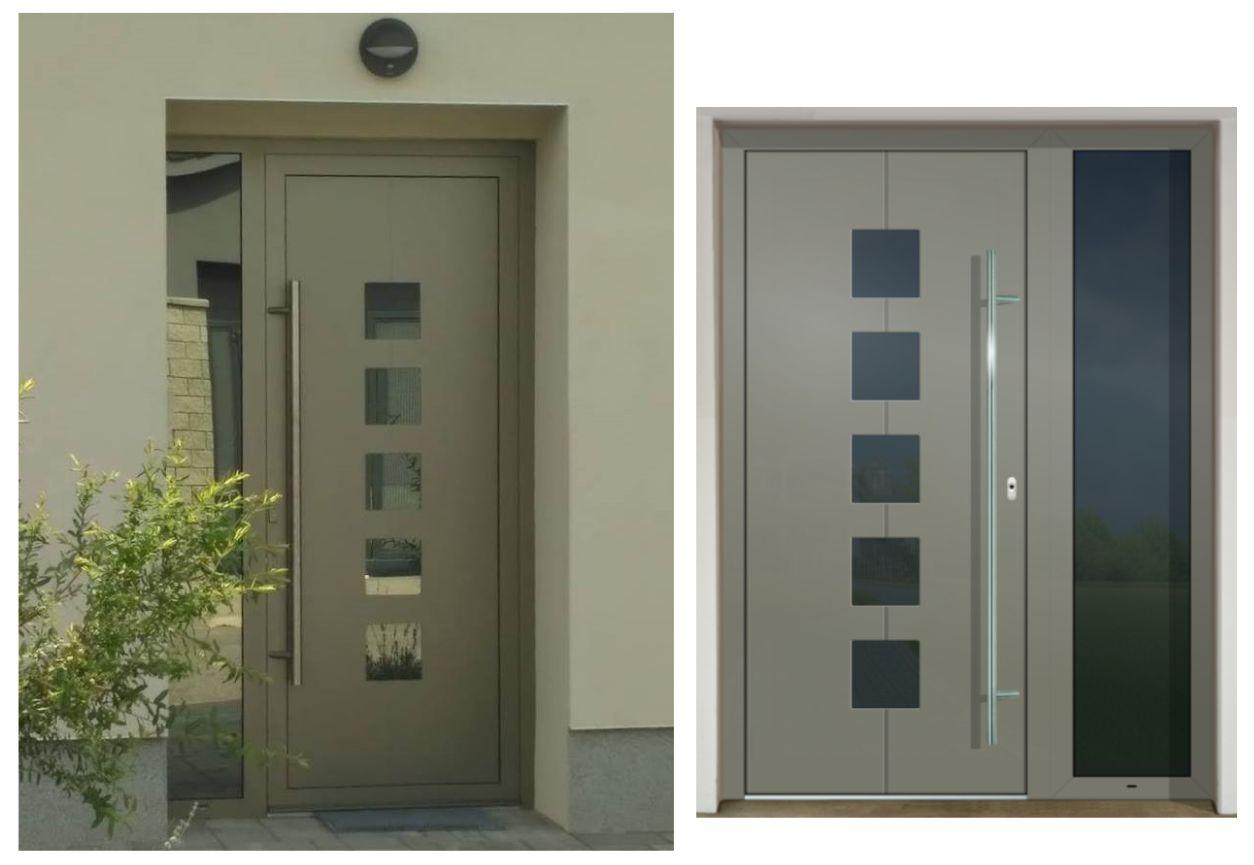 Vchodové dvere - vstup do vášho súkromného sveta - GAVA 426 FD