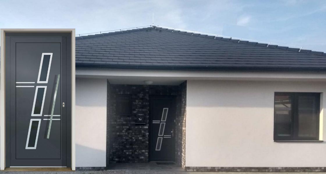 Vchodové dvere - vstup do vášho súkromného sveta - GAVA 775 antracit