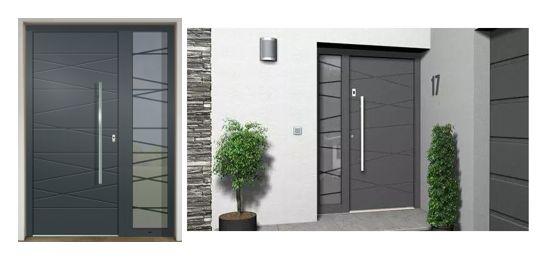 Vchodové dvere - vstup do vášho súkromného sveta - GAVA 562 antracit