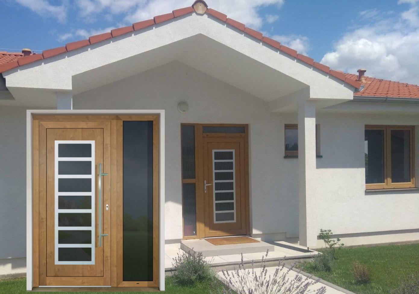 Vchodové dvere - vstup do vášho súkromného sveta - GAVA 702 Irish Oak