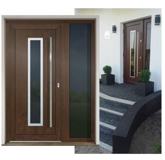 Vchodové dvere - vstup do vášho súkromného sveta - GAVA 754 nussbaum