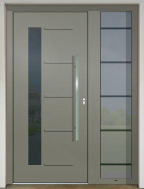 Hliníkové dvere - súčasné farebné trendy - GAVA 526 FD