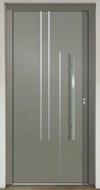 Hliníkové dvere - súčasné farebné trendy - GAVA 515 FD