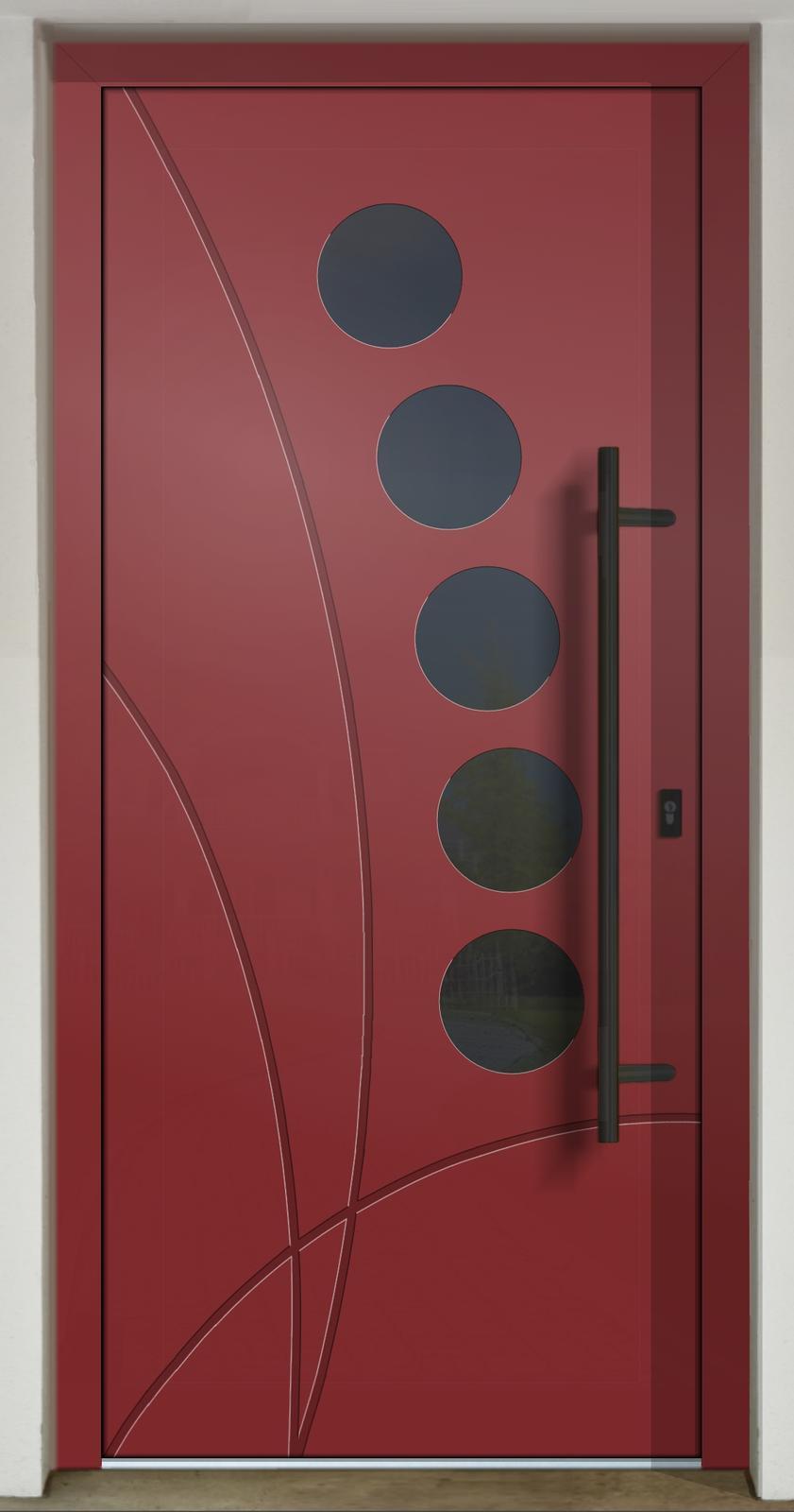 Geometrické tvary na vchodových dverách - GAVA 437a