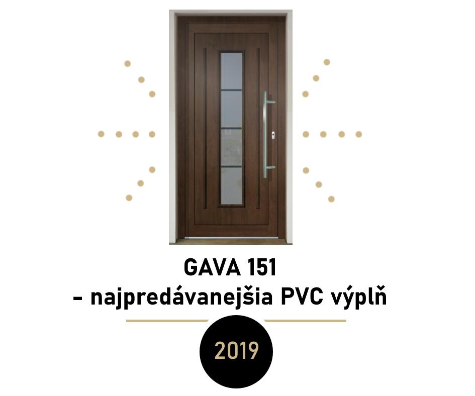 Najpredávanejšie dverné výplne v roku 2019 - najpredávanejšia dverná výplň za rok 2019 - GAVA 151