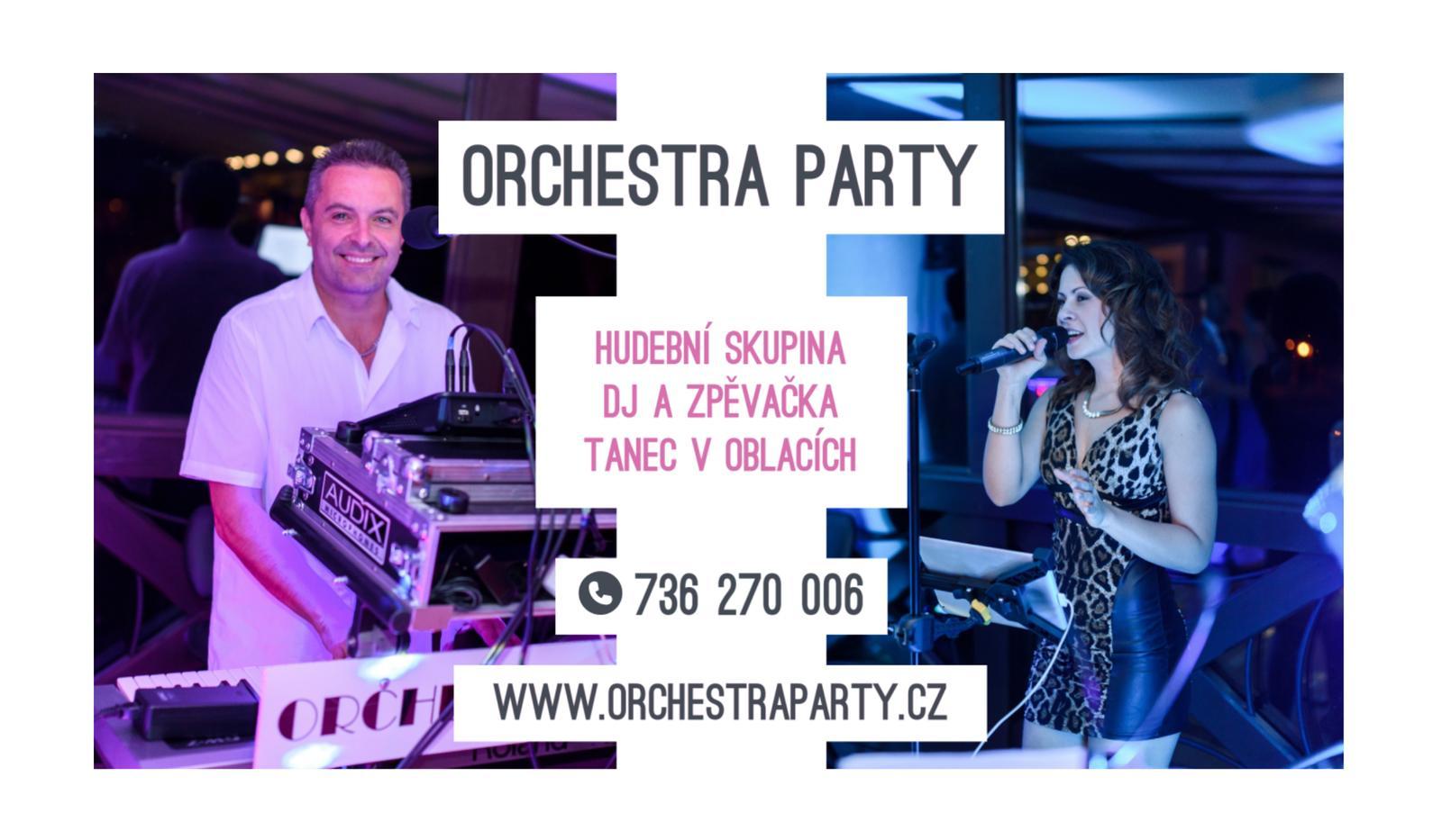 orchestraparty - Vizitka 2020