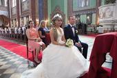 Svatební šaty se zdobeným korzetem Elianna Moore, 38