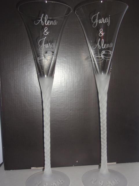 Anjelik a ja :) - No už sú aj poháre