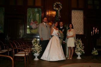 nevěsta,ženich,svědek a svědkyně
