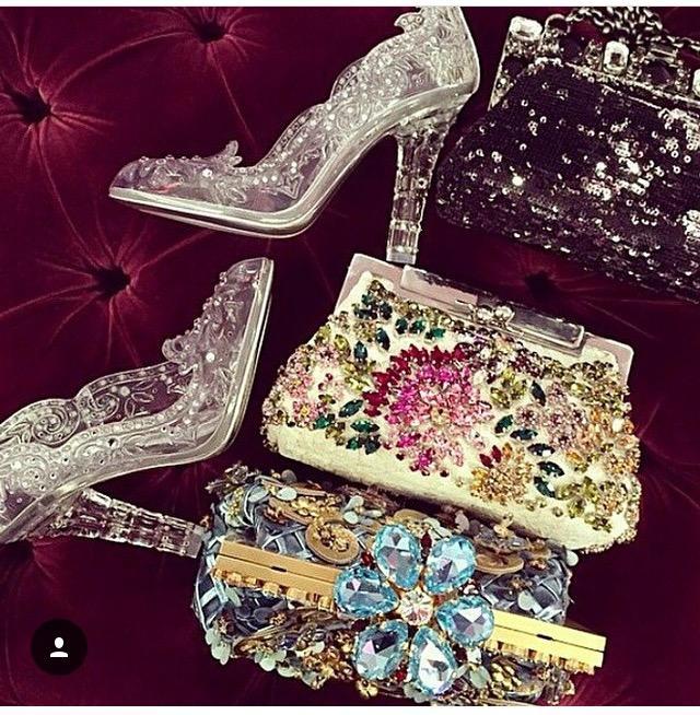 Topánky od Popolušky...krása 😍