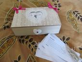 Krabička na odkazy, rady pre novomanželov,