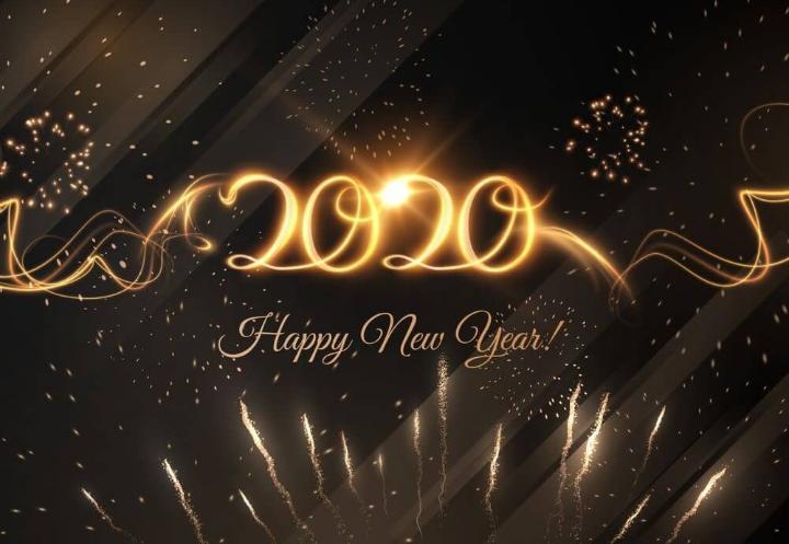 Krásný Nový rok 2020 😊 ! Hlavně ať jste zdraví a s těmi, které máte rádi ❤, protože to je to nejdůležitější 😊. - Obrázek č. 1