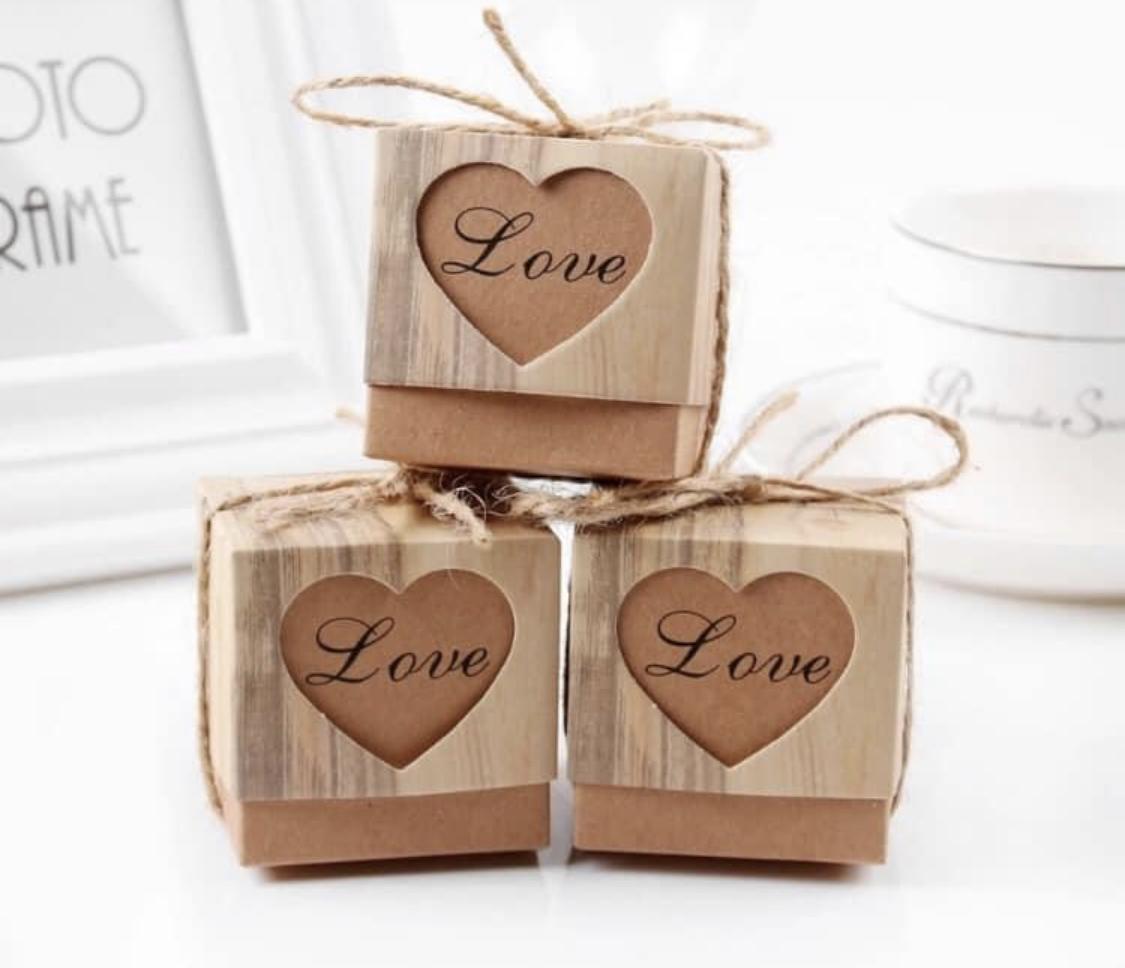 Svatební krabičky na výslužku - Obrázek č. 1