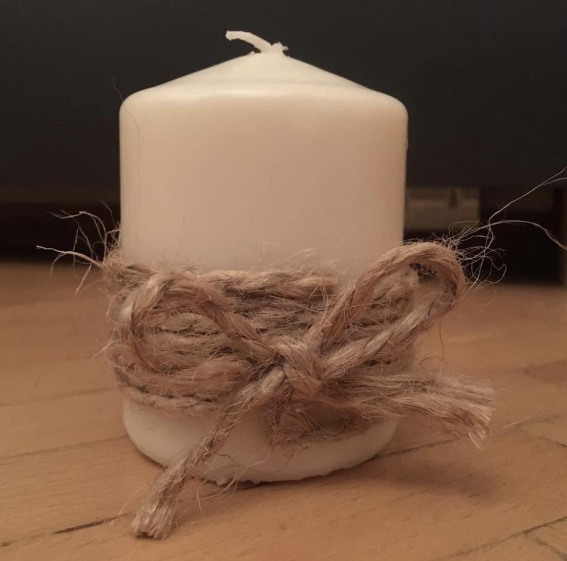 Svíčky s jutou - Obrázek č. 1