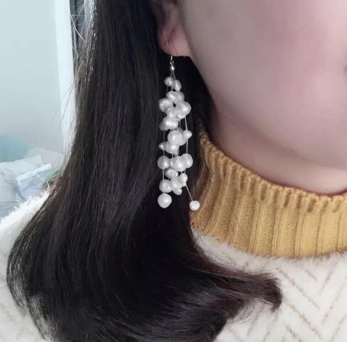 Náušnice z pravých perel - Obrázek č. 1