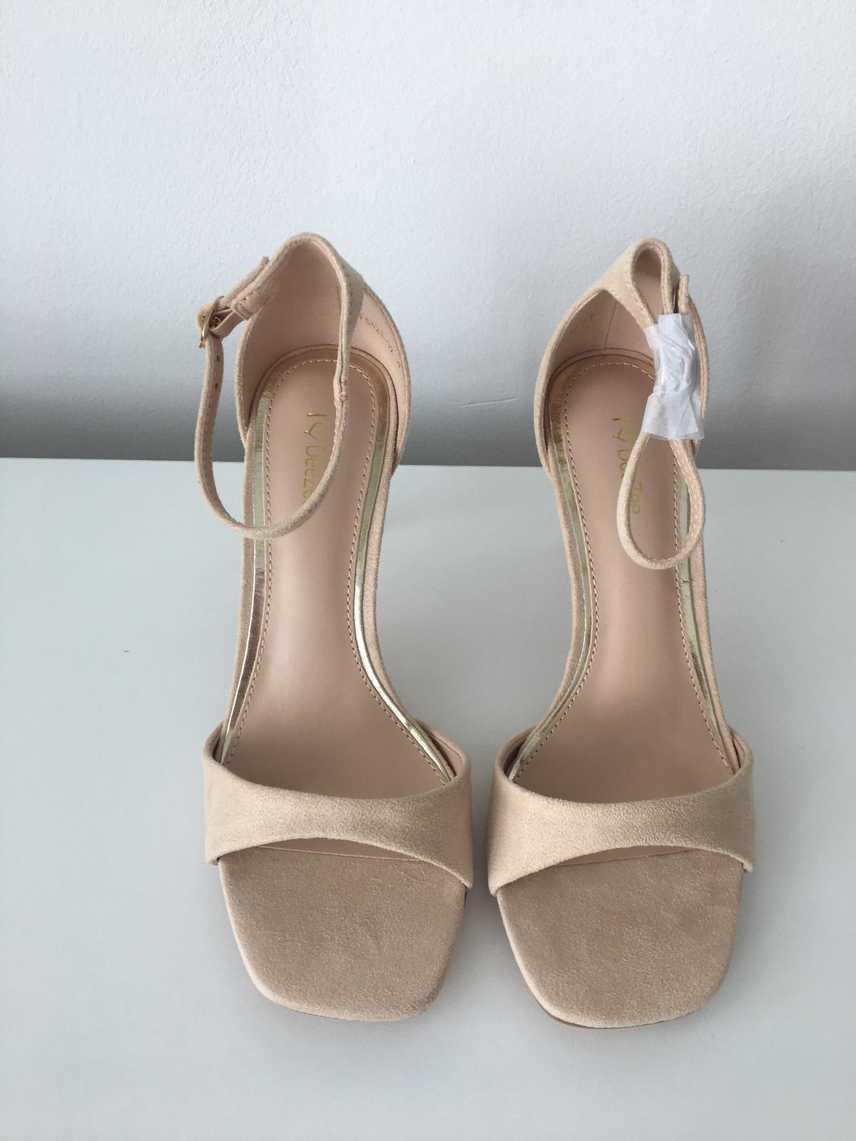 Béžové sandálky - Obrázok č. 1