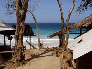 Líbánky na Bali