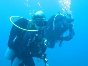 Potápko na Bali bylo úžasný