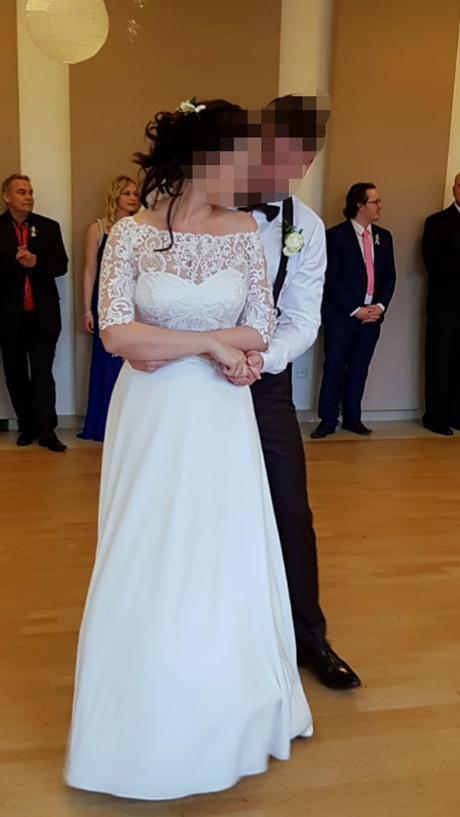 Šaty zn. Marybella, veľk. 38-42, prírodná biela - Obrázok č. 2