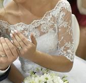 Bolerko k svadobným šatám,