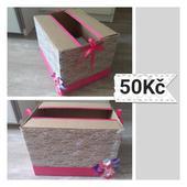 Krabička na svatební přání,