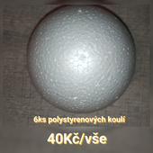 Polystyrenové koule,