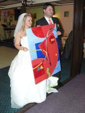 jeden ze svatebních dárů