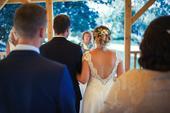 Boho svatební šaty, 40