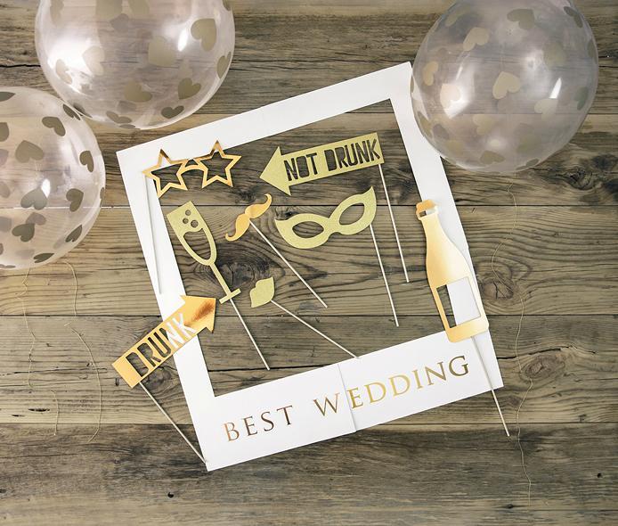 Súprava na fotenie - Best Wedding  - Obrázok č. 1