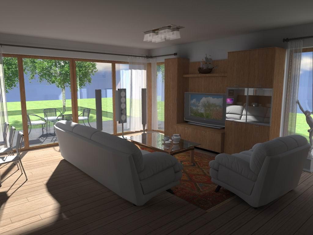 Navrh interieru druhej casti domu - Obrázok č. 1