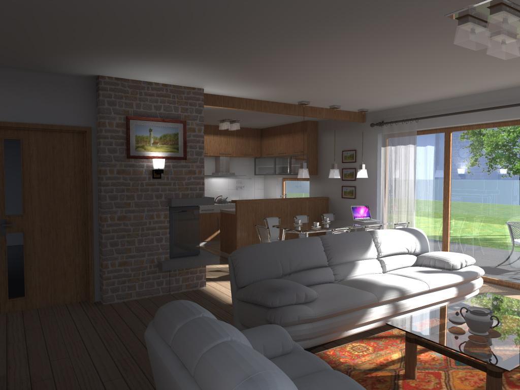 Navrh interieru druhej casti domu - Obrázok č. 3