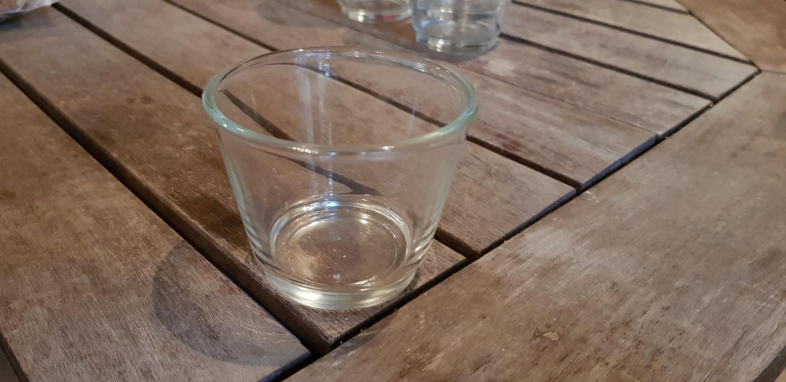 Kalíšek na čajovou svíčku + čajová svíčka - Obrázek č. 1