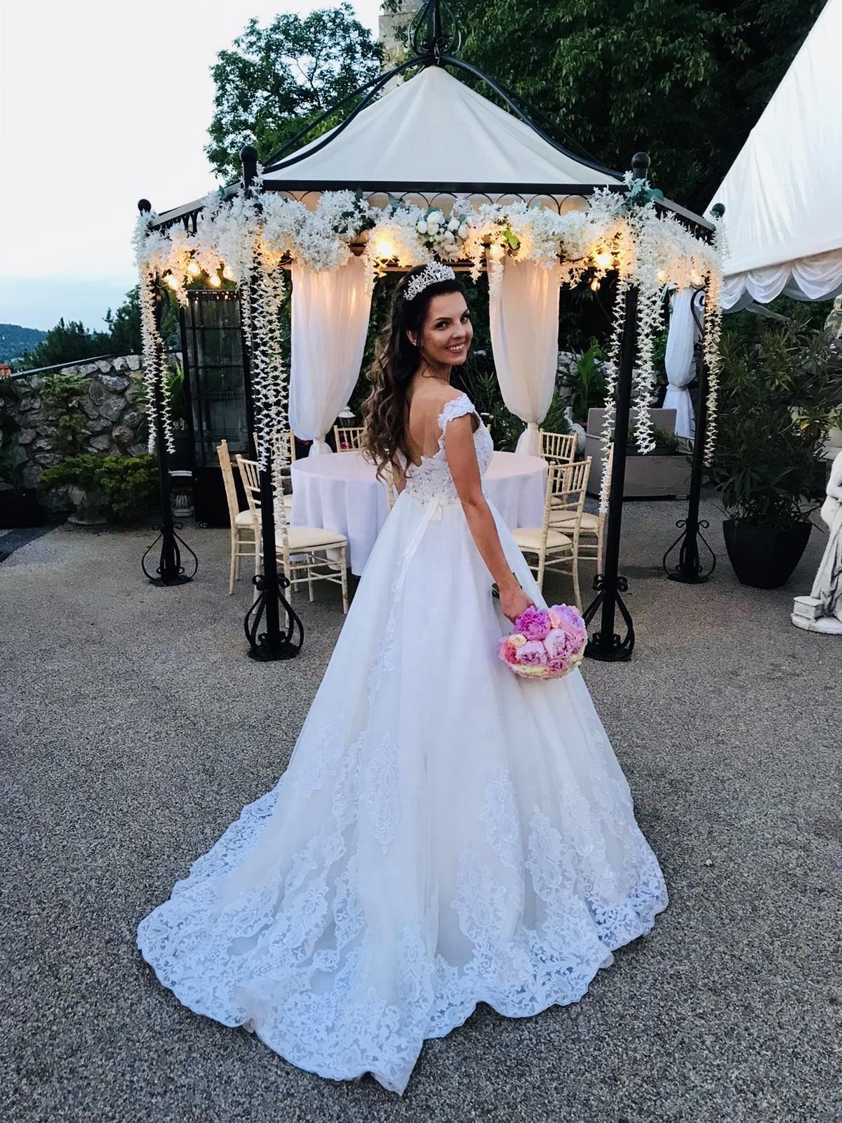 Krásne svadobné šaty Florence Barolo - Obrázok č. 2