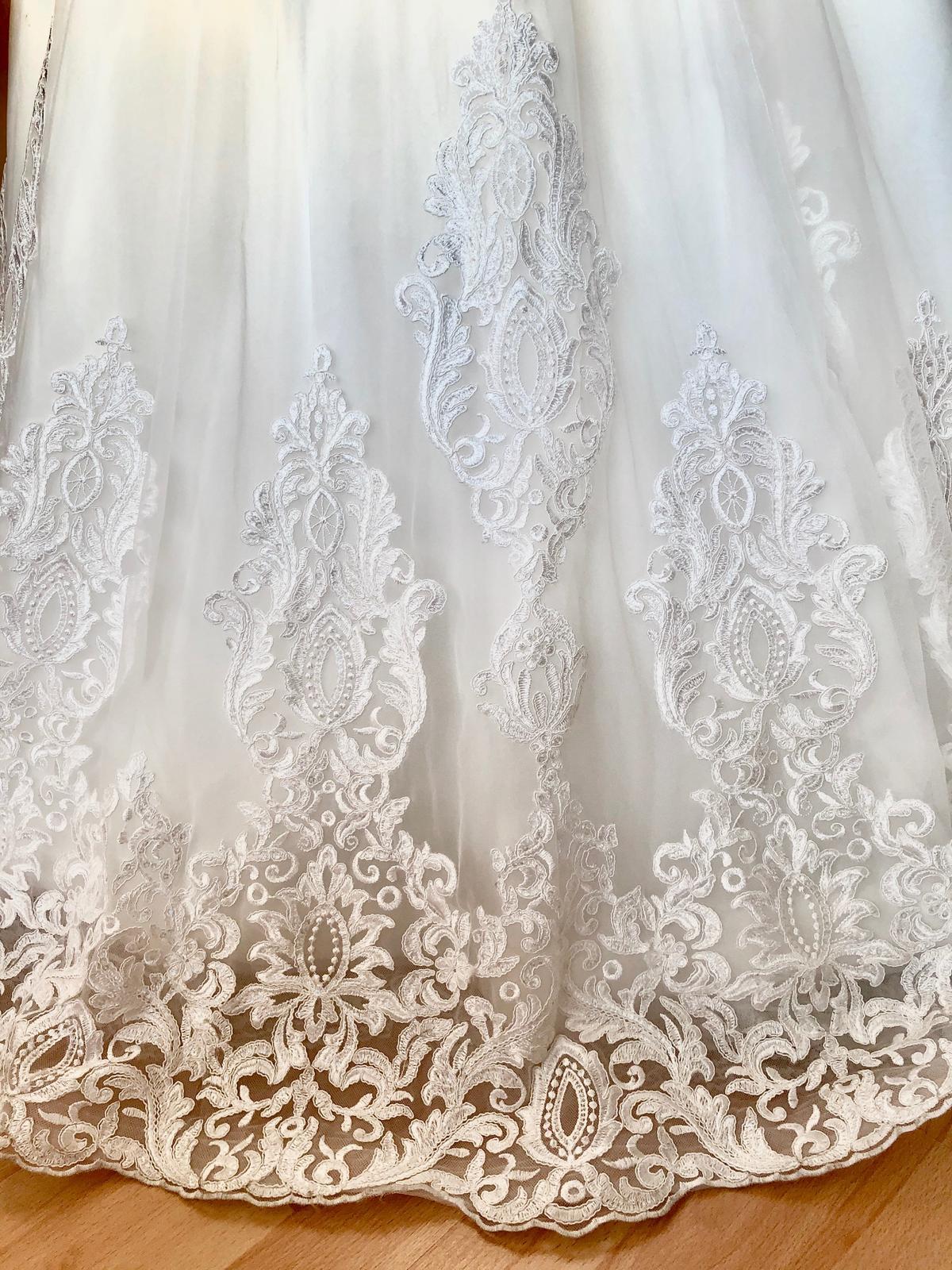 Krásne svadobné šaty Florence Barolo - Obrázok č. 4