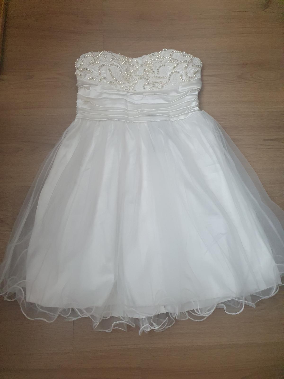 Nové krásné dámské šaty vel. 38 - Obrázek č. 1