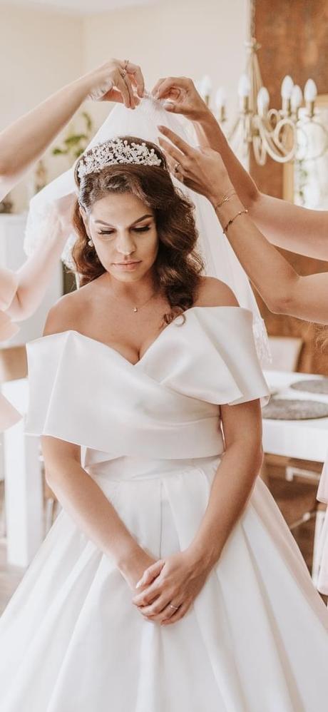 predám svadobné šaty Eva Lendel - Obrázok č. 1