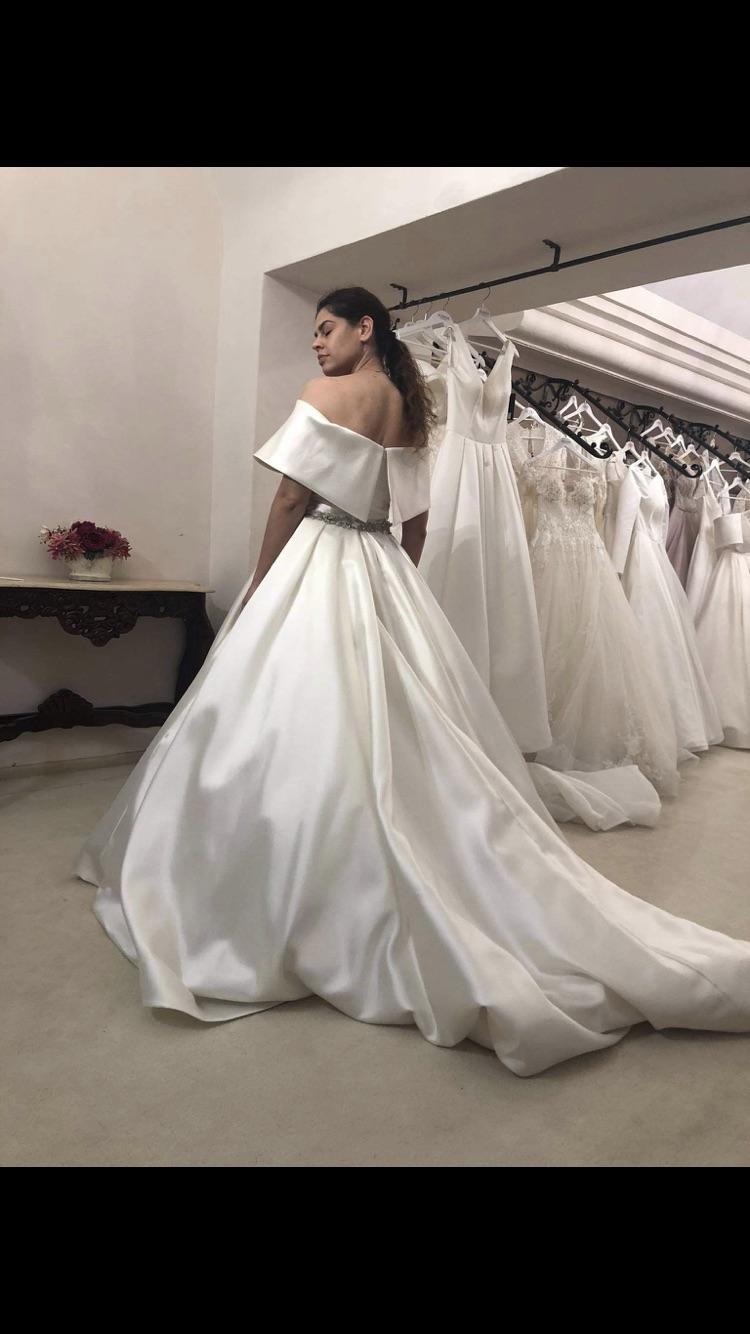 predám svadobné šaty Eva Lendel - Obrázok č. 2