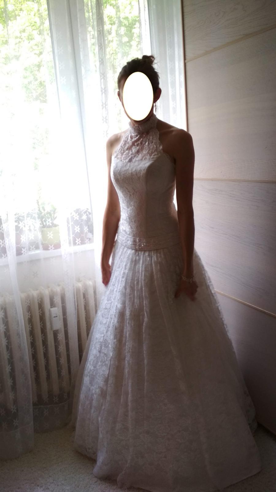 Svatební šaty 36-38 - Obrázek č. 1