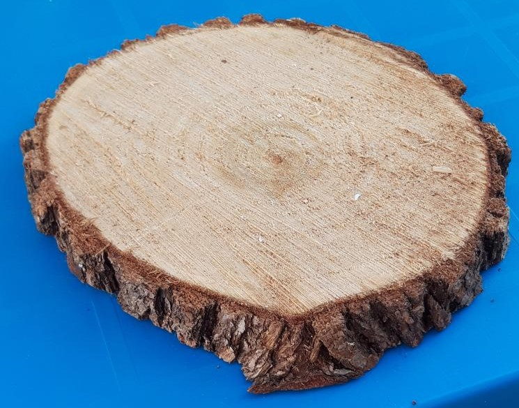 Dřevěný koláč / tác z kulatiny 13 ks - Obrázek č. 1