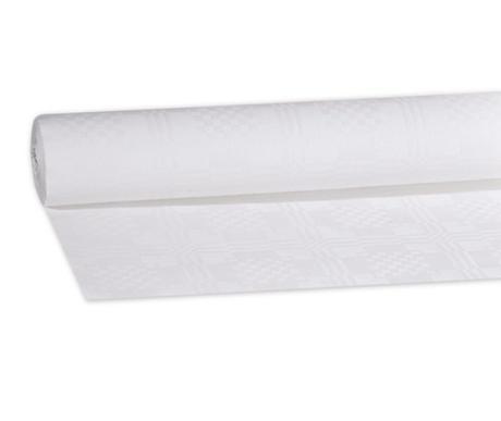 Papírový ubrus bílý (10 bm x 1,2 m) 1 ks role nové nepoužité - Obrázek č. 1