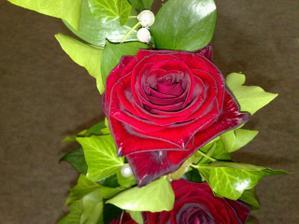Detail ružičky.