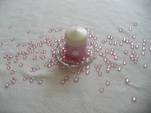 takhle budou svíčky s kamínkama