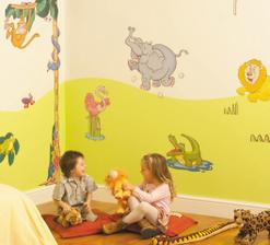 Dětský pokoj ve stylu Velké Safari
